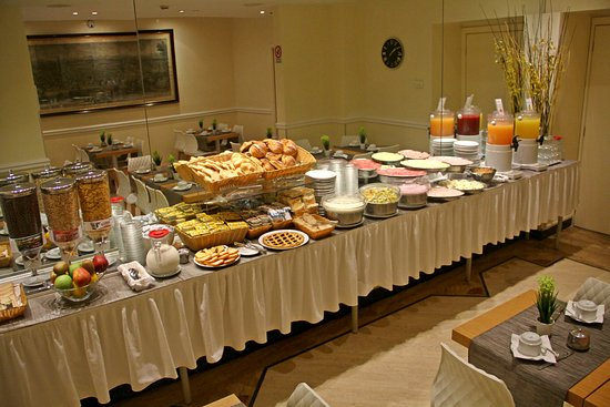 Windrose Hotel: Part of the buffet Breakfast