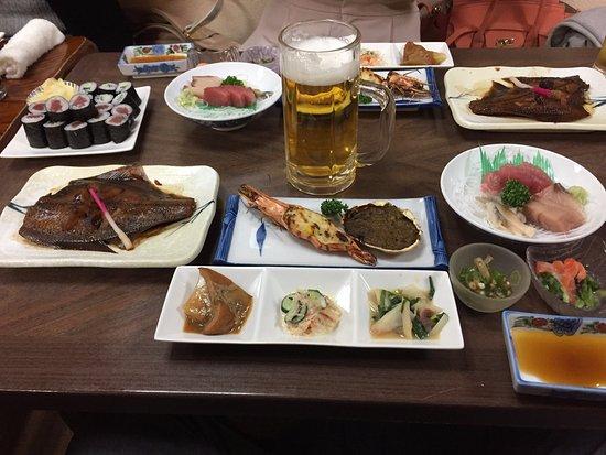 Toyoura-cho, Japan: 宴会コース