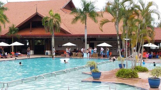 Main Swimming Pool Picture Of Club Med Cherating Beach Cherating Tripadvisor