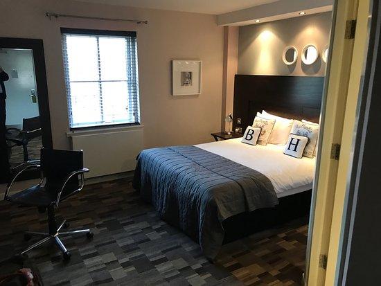 Kilsyth, UK: Very comfortable bed
