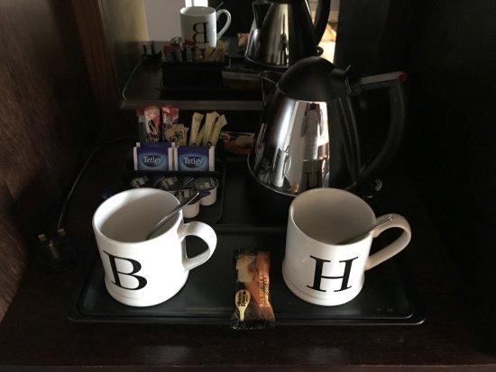 Kilsyth, UK: Excellent tea making facility
