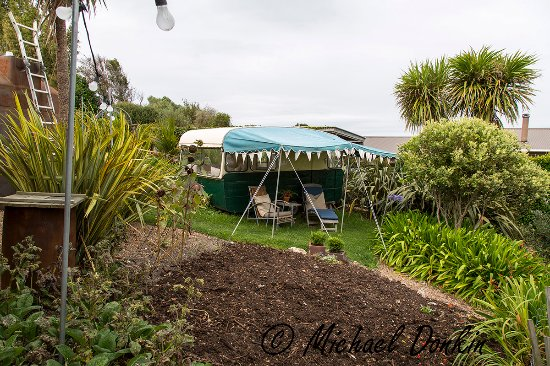 The Boatshed: The hotel fruit & vegetable gardens
