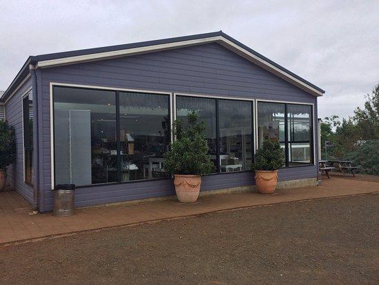 Tazmanya, Avustralya: Gift shop and cafe area