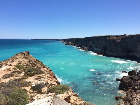 Ceduna, Australien: The start of the Bight