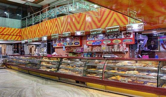 Rawat Sweets: Inside of rawat