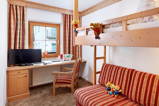 Habachklause: Kinderzimmer mit Stockbett