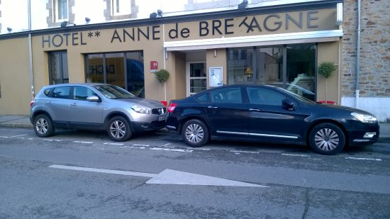 Hotel Anne De Bretagne : facade