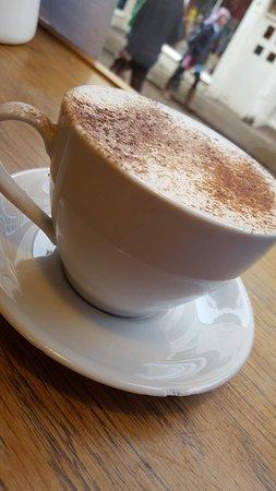 Orange Hot Chocolate Picture Of Burgate Coffee House