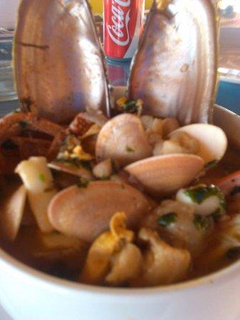 Al Capone Restaurant : Seafood soup
