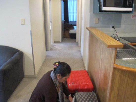 Best Western President Hotel Auckland: Corridor, good layout