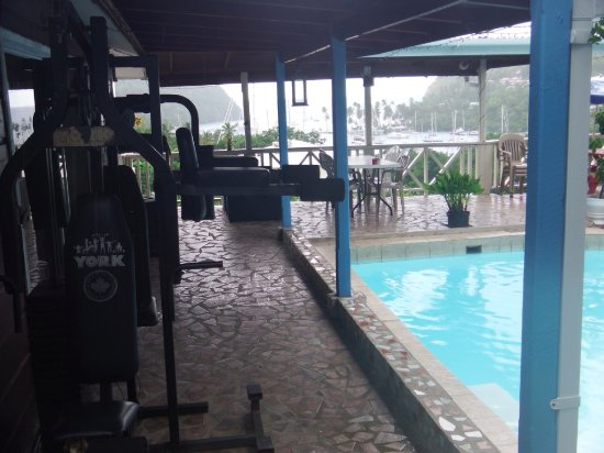 JJ's Paradise Hotel: gym equipment for those that like to stay fit