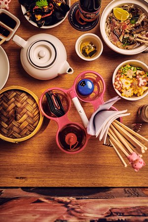 Photo of Chinese Restaurant Happyhappyjoyjoy West at Bilderdijkstraat 158hs, Amsterdam 1053 LC, Netherlands