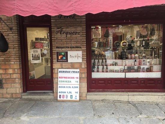 Tienda de Toledo Bodegas Perez Arquero