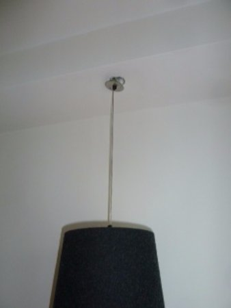 Blythswood Square: Lamp fitting in Superior room!!