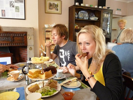 Buckden, UK: Afternoon tea