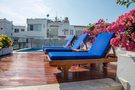 Casa Claver Loft Boutique Hotel: Terraza