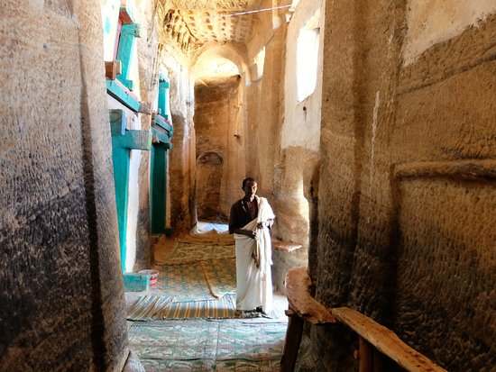 Tigray Region, เอธิโอเปีย: Chiesa di Adi Kesho: atrio