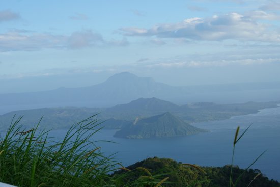 Discovery Country Suites: A slightly different angle of Taal Lake and islands than what you see from Discovery Suites