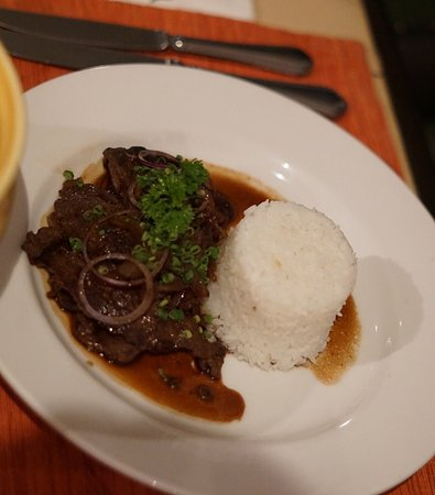 Discovery Country Suites: Verbana Restaurant - Discovery Suites - Bistik Tagalog - delicious!