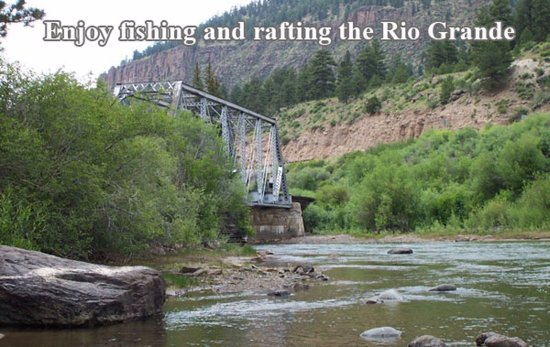 Del Norte, CO: Lots of opportunities for lake and river fun.