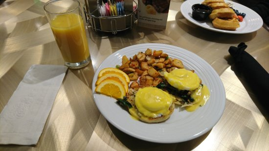 South Jordan, UT: Florence Benedict with Stacked Waffles in background