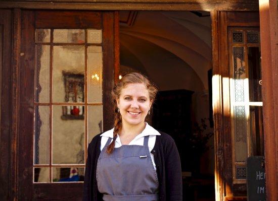 Soglio, Швейцария: Freundlicher Service!