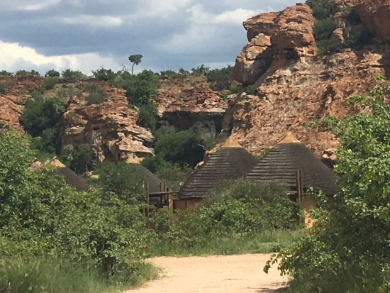 Limpopo Province, South Africa: a view of the self chalet village at Mapungubwe National Park