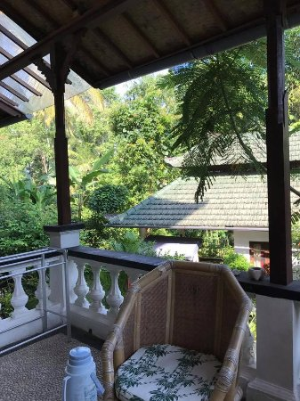 White Lotus Yoga & Meditation Centre: My balcony