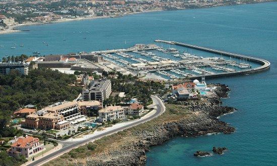 Grande Real Villa Italia Hotel & Spa: Aerial View