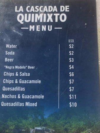 Quimixto: The Quesadillas were delicious.