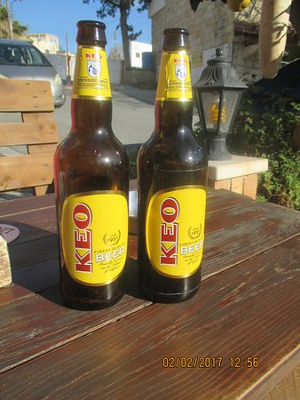 Tala, Cyprus: Bottled Keo