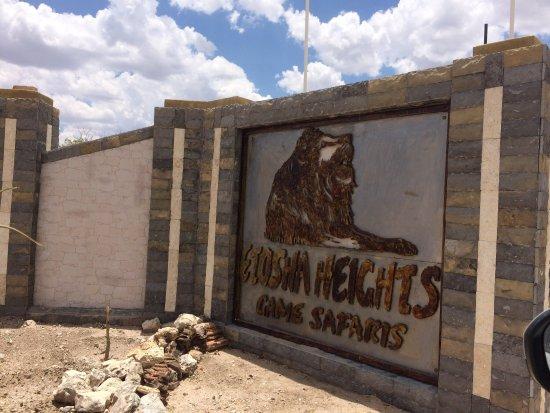 Kamanjab, Namibya: Chambre