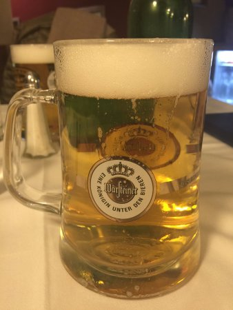 Cafe Berlin: Warsteiner pilsner