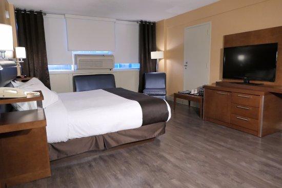 Hotel Espresso Montreal Centre-Ville/Downtown: Standard 1 King