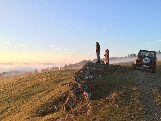 Miercurea-Ciuc, Rumunsko: Private 4WD Safari in the Eastern Carpathians