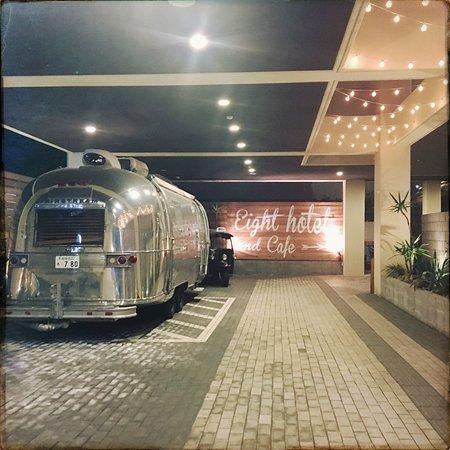8hotel: Entrance