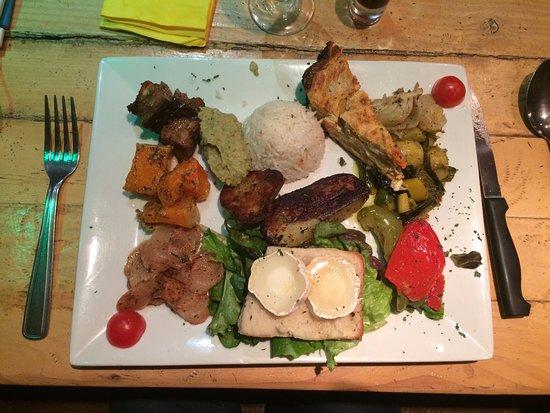 La Gouaille : l'assiette végétarienne