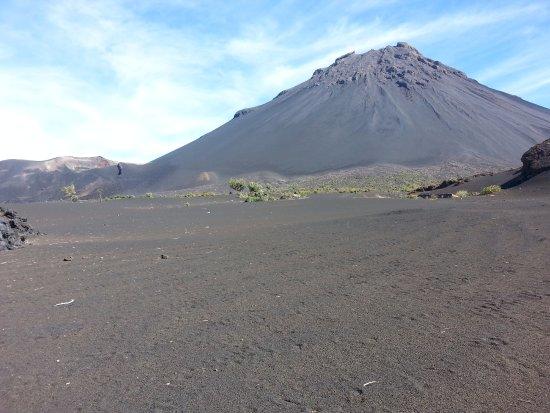 Pico Do Fogo: Pico de Fogo desde el interior de la caldera