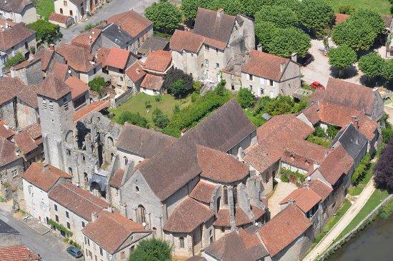 Marcilhac-sur-Cele, France: Panoramic view