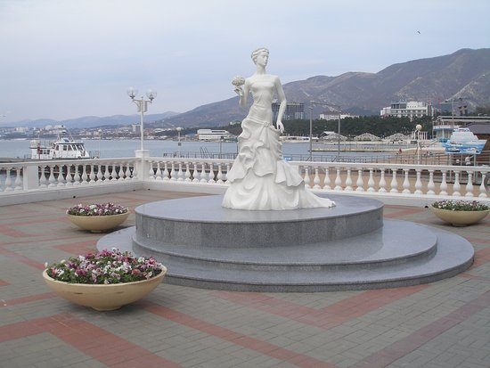 White Bride Sculpture