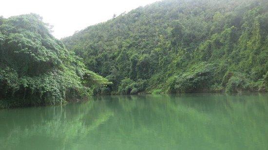 Rio Chavon: vue du fleuve