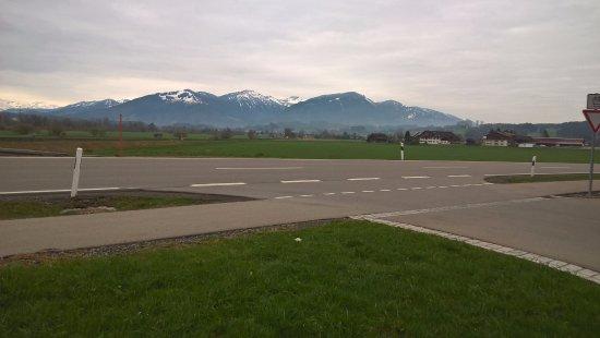 Immenstadt im Allgau, Alemania: view from parking