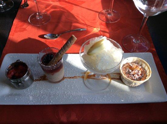 Le Narval : 4 delicious desserts
