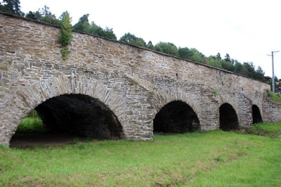 Stone bridge in Spišský Hrhov