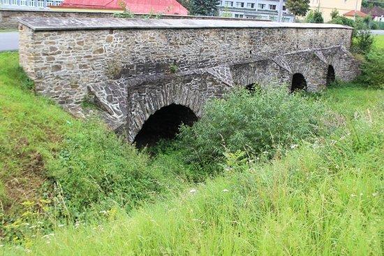 Stone bridge in Spišský Hrhov