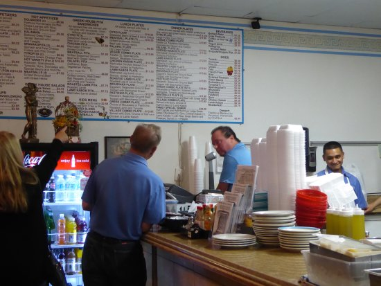 Greek House Cafe: It's a huge menu, and the cooks are very helpful so you made the perfect choice