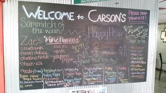 Maryville, Missouri: Carson's