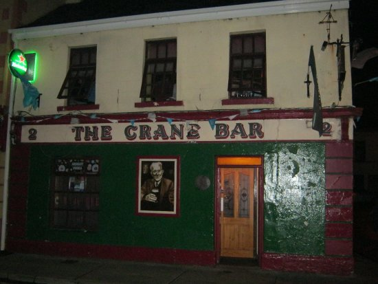 The facade of the Crane Bar - Picture of Crane Bar, Galway