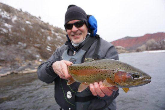 Edwards, CO: Nice Roaring Fork rainbow.