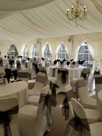 Grains Bar Hotel: Host your wedding or event in our marquee